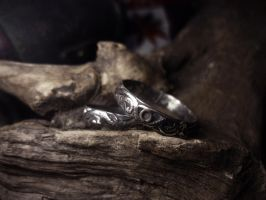 Silver Wedding Rings 1 by Rolary
