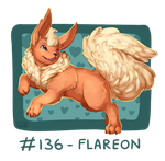 136 - Flareon by Electrical-Socket