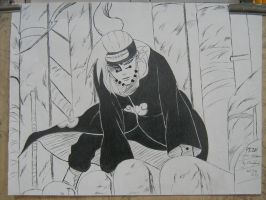 Pain from naruto by Luciferssin
