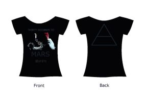 30 Seconds To Mars T Shirt by SnowBlueWolf