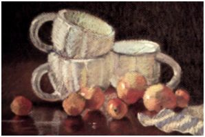 Cover: Stacked Cups with Tangerines by Vonsiel