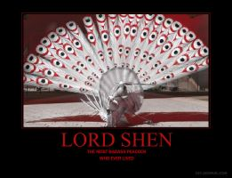 lord shen by 3and4fan