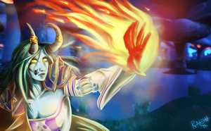 -Theme: Magic-Incinerate by RavenNoodle