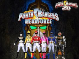Power Rangers 20- Megaforce by ThePeoplesLima