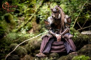 Photoshoot 2015 : Celtic Wolf warrior by Deakath