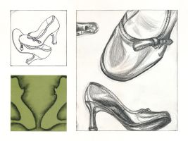 Black Heels Study by piratewench831