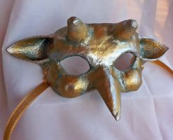 Imp Masquerade Mask by DaraGallery