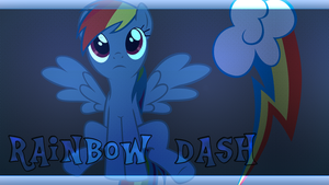 Wallpaper #17 (Rainbow Dash) by Lightslash