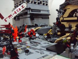 PostApoc diorama: Last Stand. by Revenant19