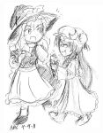 Free Sketch-Marisa n Patchouli by mandy-kun