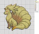38 - Ninetales by Makibird-Stitching