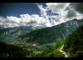 The Marmot Path I by Beezqp