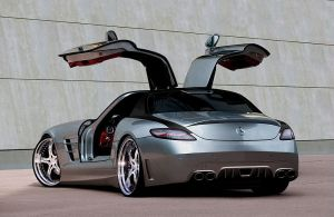 MEC Concept Mercedes-Benz SLS by TheCarloos