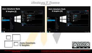 Aero Amature Dark ~ Windows 8 Inspire ~ by HKK98