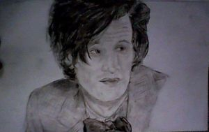 Matt Smith- Eleven, WIP. by Tashishka