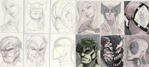 SketchCard Batch Before n After by MikeVanOrden