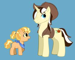 AppleJack's Kids by MoostarGazer