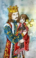 Moldova and his King by hanakoofthejungle