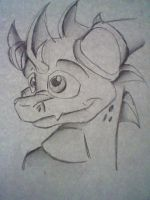 Spyro Headshot by yazzymay
