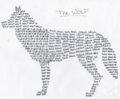 Wolf Poem by lucidcoyote