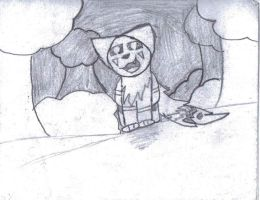 A really old drawing by Meowmixed