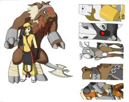 Fakemon - Steel Elite Four by WhiteTigaw