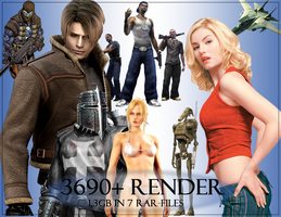 Nearly 4000 Photoshop Renders by Dalabad