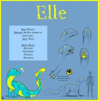 Elle Reference Sheet by Fly-Free12
