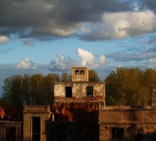 Old meat-packing plant by Acdnoodles