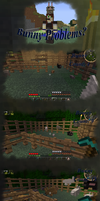 Bunny Problems? -Minecraft- by slycooper998