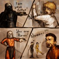 Empire strikes back vs KotoR by DancinFox