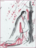 plum blossom viewing by nan-says