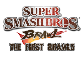 Super Smash Bros Brawl The First Brawls Logo by KingAsylus91