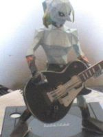 Zora Link Gibson Custom Black by DarkRockerRUS