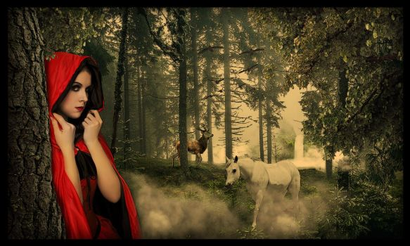 Red Riding Hood by bayezid1982