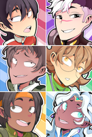 Voltron Icon Fam by PRllNCE