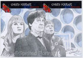 The 2nd Doctor, Polly and Ben by Timedancer