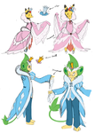 PKMNC - Halloween Dance Costumes by TamarinFrog