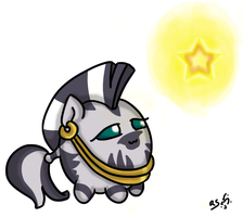 Still early, but hey : Christmas Zecora by RanSurround