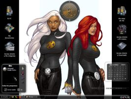 Ororo And Jean by scubabliss
