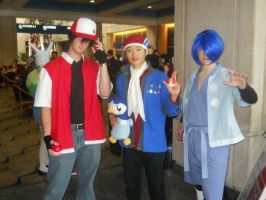 RED, Lucas, and Falkner by dookieshed