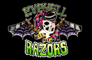 EveHell and the Razors by MummysLittleMonster