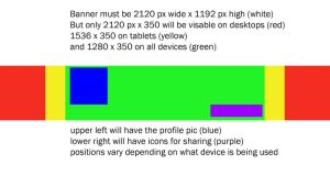 Youtube Banner Size for 2013 by AshlingRainStrom