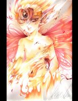 The Clow card, Firey by Giname