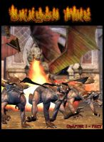 Dragon Fire : Pact - Cover by Silver-Wings1000