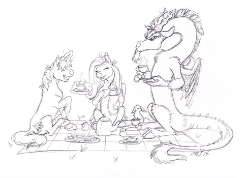 Teaparty by Lionroo