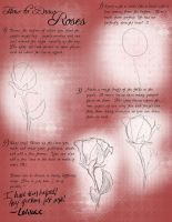 Roses Tutorial by tipsycakes