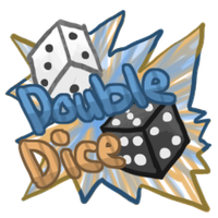 Double Dice by Canvas-Cutie