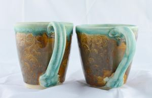 Copper mugs by FoxCunningTrickster