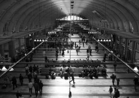 stockholm central station by doubledeezy